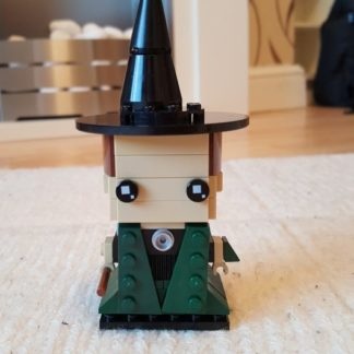 Lego Brickheadz style representation of Professor McGonagall