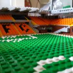 Pitch level view of the East stand – larger Tannadice